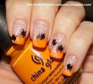 Spider_halloween_Nail_art