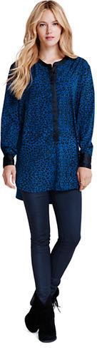 Jessica Simpson Jenni Printed Woven Tunic